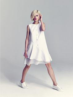 Дебютная коллекция ARnouveau от Анастасии Романцовой Simple Dresses, Casual Dresses, Short Dresses, Fashion Dresses, Summer Dresses, Modern Fashion, Cute Fashion, Womens Fashion, Fashion Design