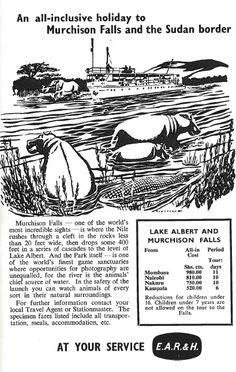 East African Railways & Harbours Ad 1960