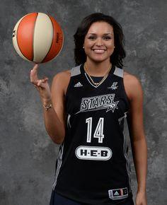 Kayla McBride San Antonio Stars 2014