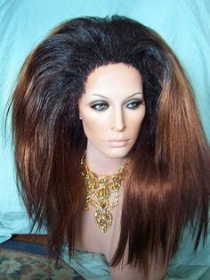Reshoot of a great rooted drag wig by New Attitude Wigs, via Flickr