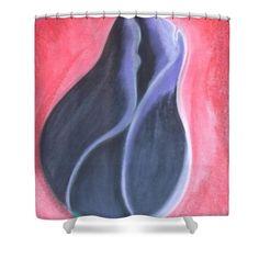 Tulip Bud Shower Curtain