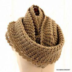 Ravelry: Infinity #Scarf For Every Age #crochet #pattern by Lyubava Crochet