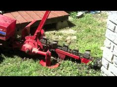 Gravely trencher