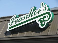 Ivanhoe's Drive In, Upland, Indiana. Everybody's been there. If you haven't - go.