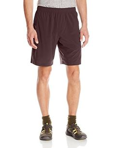 prAna Living Men's Vargas Shorts, Small, Rich Cocoa * ADDITIONAL DETAILS @:…