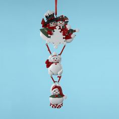Country Marketplace - Snowflake Family Of 4 Ornament, $12.00 (http://www.countrymarketplaces.com/snowflake-family-of-4-ornament/)