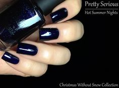 Fashion Polish: Pretty Serious Cosmetics Christmas Without Snow Collection!