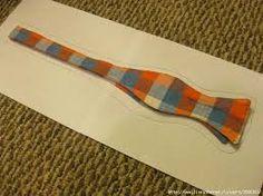 Картинки по запросу выкройка галстука бабочки на застежке