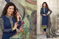 Remarkable Cobalt Blue and Light Sea green Salwar Kameez Online Shopping #Dress #AyeshaTakia #Formal #ExclusiveDress #SalwarKameez #Chudidar #Salwar #OnlineSupplier #India