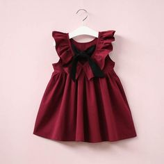 European Toddler Ruffle Dress