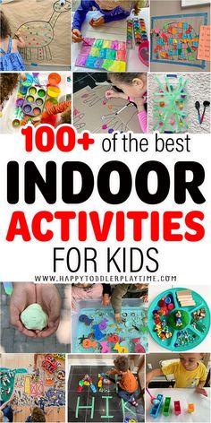 100+ Indoor Activities for Kids - HAPPY TODDLER PLAYTIME