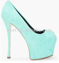 Latest trending women shoes 2014 platform pumps wholesale peep toe women's dress shoes $5.7~$9.7