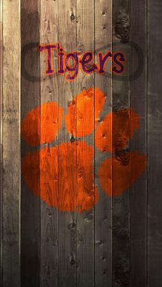 clemson tigers artwork for my fence
