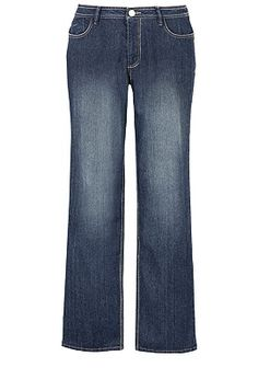 Tall Button Pocket Straight Leg Denim Jean 28-32