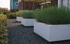 Strakke tuin bij vrijstaande woning in Zwaag. Van Veen Tuinontwerpen tuinontwerp hovenier tuinaanleg