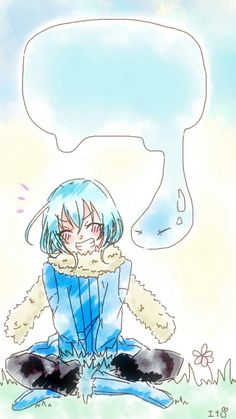 Slime, Blue Hair Anime Boy, Anime Titles, Light Novel, Me Me Me Anime, Supernatural, Otaku, Concept Art, Horror