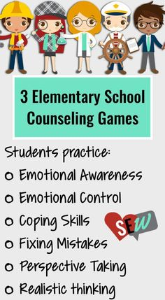 I'm in Charge of Me! Games (Original, Anxiety, & Anger). Three cognitive behavioral therapy (CBT) games for small group counseling designed to teach elementary students key cognitive behavioral skill such as identifying triggers, negative thoughts, helpful coping skills, and the impact of their behavior. This bundle includes the original game, the anxiety game, and the anger game. Social Emotional Workshop.