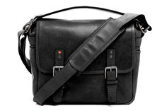 The Berlin II: ONA x Leica Collaboration Bag in black leathe
