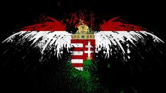 Hungarian flag and Turul bird. Hungarian Tattoo, Hungarian Flag, Biker Tattoos, Cool Tattoos, Awesome Tattoos, Football Tattoo, Attila The Hun, Hungary Travel, Printable Pictures
