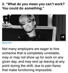 Work is not realistic.