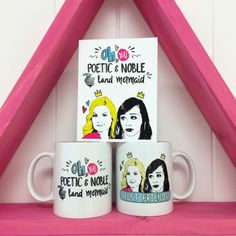 Oh Ann, you gorgeous simple house cat … Way overdue but finally ready! http://www.peachyapricotshop.com/collections/mugs/products/ann-and-leslie-best-friends-mug#.Vd9o-7xViko