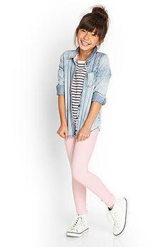 Classic Knit Leggings (Kids) | FOREVER21 girls - 2000122774