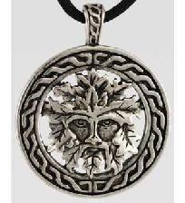 Celtic Greenman Amulet for Transformation & Rebirth