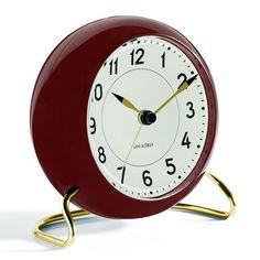 Arne Jacobsen Station Alarm Clock