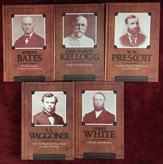 Adventist Pioneer Series 5 Books: Bates ~ Kellogg ~ Prescott ~ Waggoner ~ White