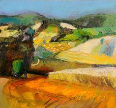 ☼ Painterly Landscape Escape ☼ landscape painting by John Brown
