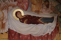 The Dormition of the Blessed Mother