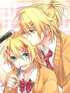 vocaloid twins rin and len