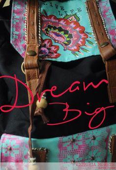 LIVE LIFE & DREAM BIG  #art #fashion #deco #dreambig #livelife #love #boho #happysaturday