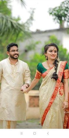 No One Loves Me, Designer Wear, Kerala, Blouse Designs, First Love, Ms, Sari, Wedding Photography, Bride