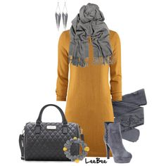 winter outfits | Cute Winter Outfits 2012 | Another Sweater Dress | Fashionista Trends