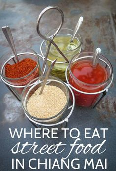 Where to Eat Street Food in Chiang Mai #travel #ChiangMai #thailand #foodie