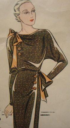 Simplicity Customode #8099 c.1933