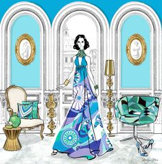 Fashion, interiors and illustration combine in Megan Hess' first book