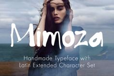 Check out Mimoza Typeface by Eleven on Creative Market