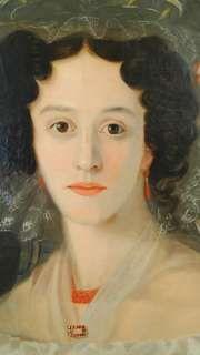 american folk art portraits   Art Art from Dealers & Resellers Paintings