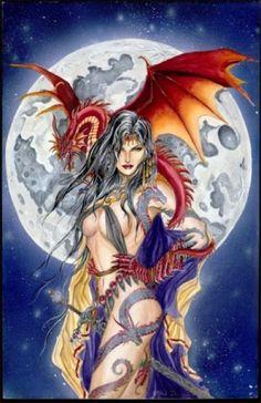 Dragon Moon- Nene Thomas