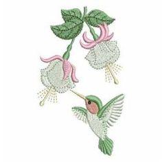 Hummingbird 02 machine embroidery designs
