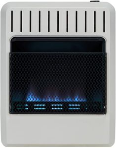 Avenger FDT20BFA Dual Fuel Ventless Blue Flame Heater, White Moonshine Still Kits, Best Space Heater, Mirrored End Table, Side Table With Storage, Memory Foam Mattress Topper, White Mirror, Blue Flames, Heat Pump, Blue Area