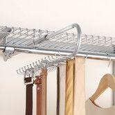 Master Closet- Configurations Closet Tie and Belt Organizer