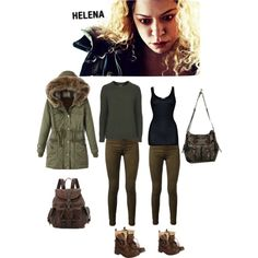 Helena - Orphan Black by newborndirectioner on Polyvore featuring polyvore, fashion, style, Topshop, iHeart, J Brand, Superdry, Frye, Free People and clothing