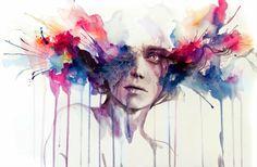 Emociones Abstractas... Agnes-Cecile