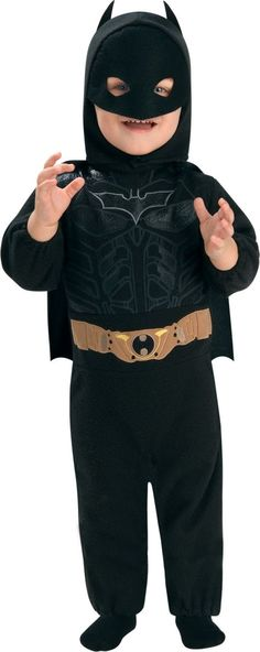 Baby The Dark Knight Rises Batman Costume - Party City