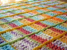 Textured Crochet Blanket Pattern