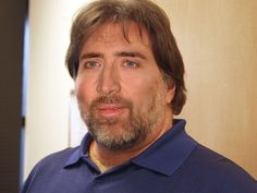 Steve Wozniak trying to dress up as Nicholas Cage. My two favorite people in one