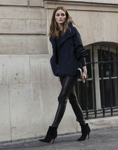 Shop my entire simple yet chic outfit! love her style, olivia palermo street style Olivia Palermo Outfit, Olivia Palermo Stil, Fashion Mode, Look Fashion, Winter Fashion, Fashion Outfits, Fashion Trends, Trendy Fashion, Casual Chic